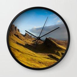The Quiraing Panoramic Wall Clock