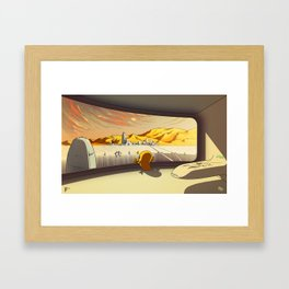 Aksem Framed Art Print
