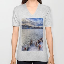 Shoes On The Danube Unisex V-Neck