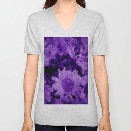 Trendy purple collection 1 Unisex V-Neck