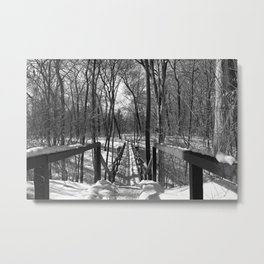A Bridge at Wildwood Metal Print