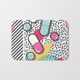 Pills pattern 018 Bath Mat