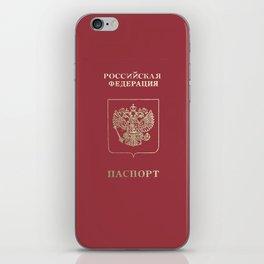 Russian Passport iPhone Skin
