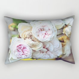 The Last Days of Spring - Old Roses I Rectangular Pillow
