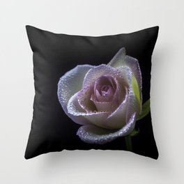 flower photography by Carlos Quintero Throw Pillow