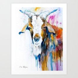 Goat 2 Art Print