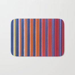 Hot & Cold Stripes Bath Mat