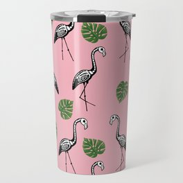 A Flock of Dead Flamingos Travel Mug