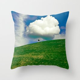 the complexity of fathers and sons Throw Pillow