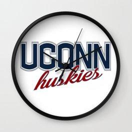 UConn Huskies Wall Clock