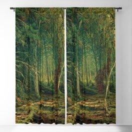 "Ivan Shishkin ""Backwoods"" Blackout Curtain"