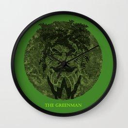 THE GREENMAN Wall Clock