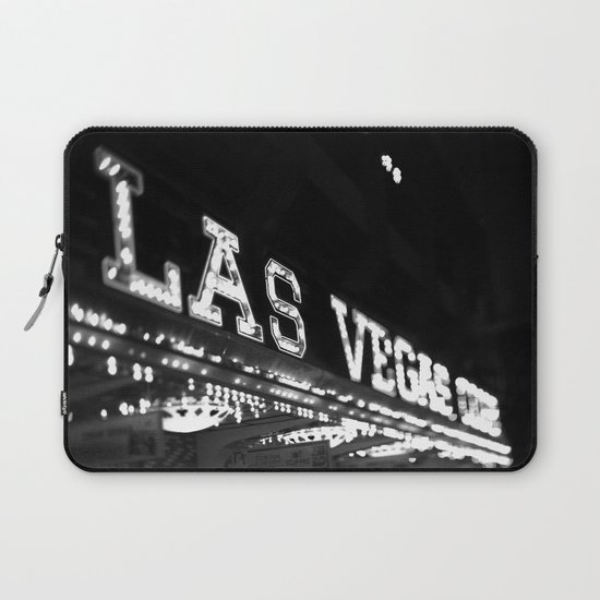Vintage Las Vegas Sign - Black and White Photography by jenaardell