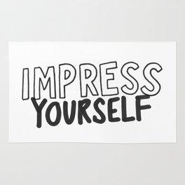 IMPRESS YOURSELF Rug