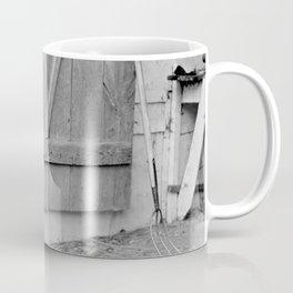 Farmer in Despair Over the Depression in 1932 Coffee Mug