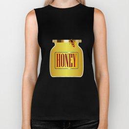Honey Pot And Bee Biker Tank