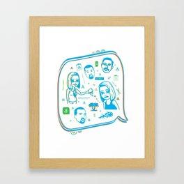 gurlfriend Framed Art Print