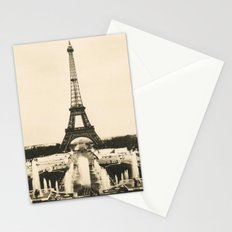 Eiffel Tower - Vintage Post card Stationery Cards