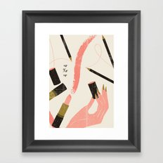xo Xo xo Framed Art Print