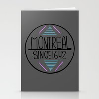 montreal Stationery Cards featuring Montreal by Aurelie