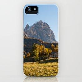 Dolomites 24 - Italy iPhone Case