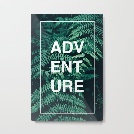 Adventure (Ferns) Metal Print