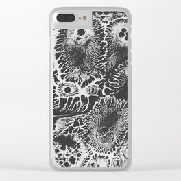 Dissolution Clear iPhone Case