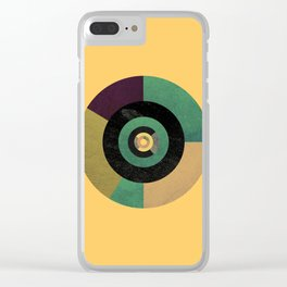 Circle Fibonacci.2 Clear iPhone Case