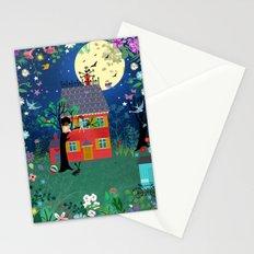 Emmas Full Moon Party Stationery Cards