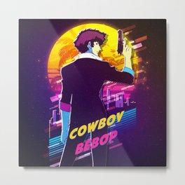 cowboy bebop retro Metal Print