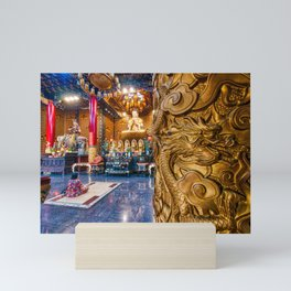 Ten Thousand Buddha Pagoda Temple Mini Art Print