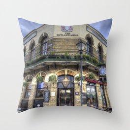 The Rutland Arms London Throw Pillow