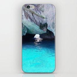 Capri Blue Grotto iPhone Skin