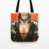 sin city Tote Bags featuring SIN CITY by Born2do