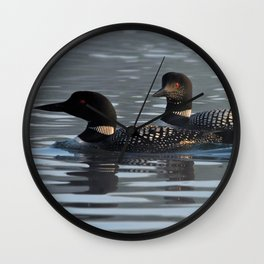 loon light Wall Clock