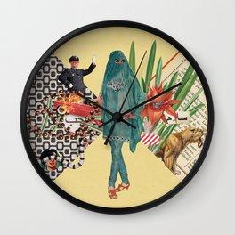 Baghdad nights Wall Clock