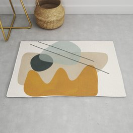 Abstract Shapes No.27 Rug