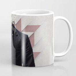 Lines & Flowers Coffee Mug