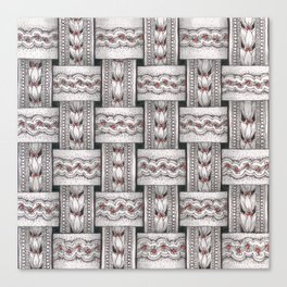 Zentangle®-Inspired Art - ZIA 48 Canvas Print