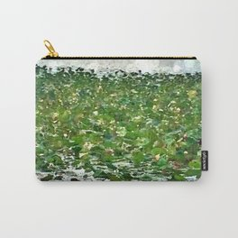 Lily Pads On The River Carry-All Pouch