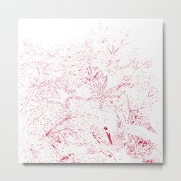 Blossoming Tree Metal Print