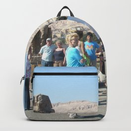 The Clossi of memnon at Luxor, Egypt, 3 Backpack