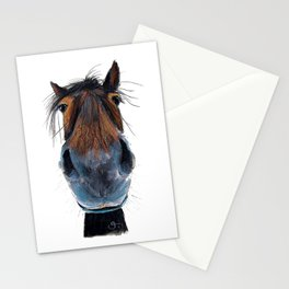 Happy Horse ' HAPPY HARRY ' by Shirley MacArthur Stationery Cards