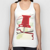 paper towns Tank Tops featuring Paper Towns by Dreki