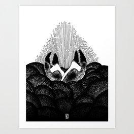 Crabe sacré Art Print