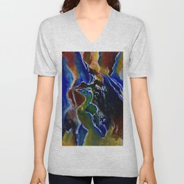 Good Luck Series: A vibrant glory Unisex V-Neck