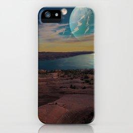 Space Desert iPhone Case