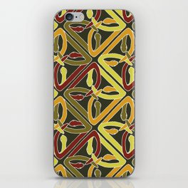 earth protractor snakes iPhone Skin