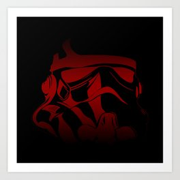 The Bloody Stormtrooper Art Print