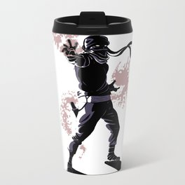 Zombie Ninja Metal Travel Mug
